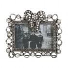 "Rama foto ""Silver Ribbon"" 5*4 cm, Clayre & Eef"