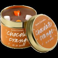 Tin Candle Chocolate Orange