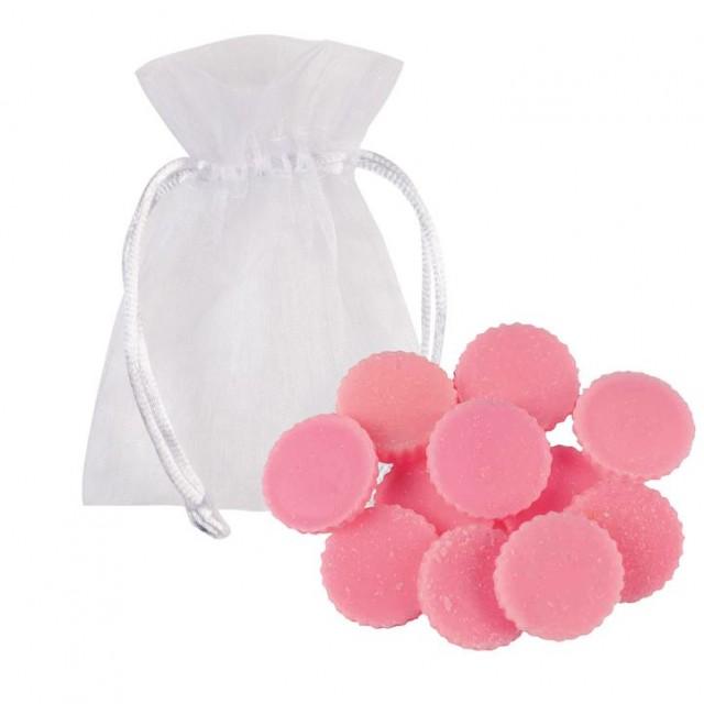 Ceara Parfumata Raspberry Ripple set 12 buc, Bomb Cosmetics