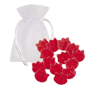 Ceara Parfumata Red Wine set 12 buc, Bomb Cosmetics