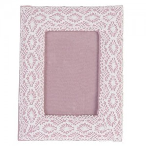 """Rama foto """"Pink Lace"""" 9*13 cm, Clayre & Eef"""