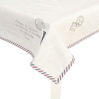 """Fata de masa """"Postal Express"""" 150*250 cm, Clayre & Eef"""
