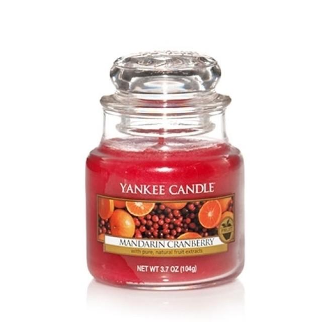 Lumanare Parfumata Borcan Mic Mandarin Cranberry, Yankee Candle