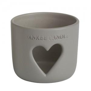 Suport Large/ Medium Jar - Stonehenge Heart Grey