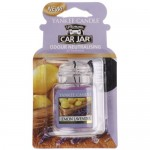 Odorizant Auto Car Jar Ultimate Lemon Lavender, Yankee Candle