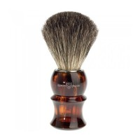 Edwin Jagger Pamatuf pentru barbierit Light Horn Sculpture, Pure Badger
