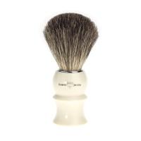 Pamatuf pentru barbierit Ivory Sculpture, Pure Badger, Edwin Jagger