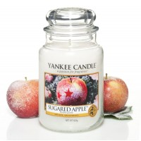 Lumanare Parfumata Borcan Mare Sugared Apple, Yankee Candle