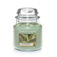 Lumanare Parfumata Borcan Mediu Aloe Water, Yankee Candle