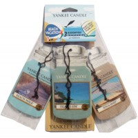 Odorizant Auto Car Jar Variety Pack 2+1 Gratuit Beach Vacation, Yankee Candle