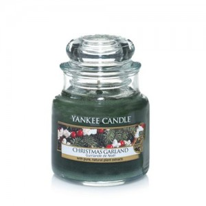 Lumanare Parfumata Borcan Mic Christmas Garland, Yankee Candle