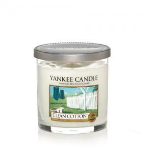 Lumanare Parfumata Pahar Mic Clean Cotton, Yankee Candle