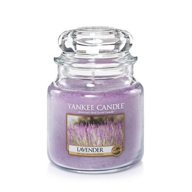 Lumanare Parfumata Borcan Mediu Lavender, Yankee Candle