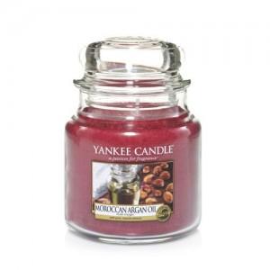 Lumanare Parfumata Borcan Mediu Moroccan Argan Oil, Yankee Candle