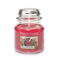 Lumanare Parfumata Borcan Mediu Red Raspberry, Yankee Candle