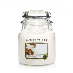 Lumanare Parfumata Borcan Mediu Shea Butter, Yankee Candle