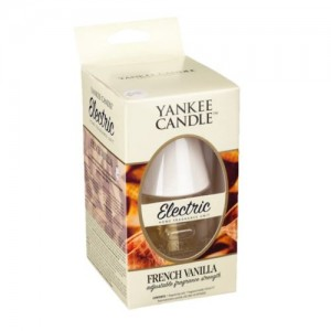Aparat electric cu rezerva French Vanilla, Yankee Candle