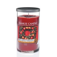 Lumanare Parfumata Pahar Mediu Red Apple Wreath, Yankee Candle