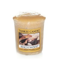 Lumanare Parfumata Votive Beach Wood, Yankee Candle