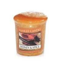 Lumanare Parfumata Votive Honey & Spice, Yankee Candle