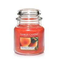 Lumanare Parfumata Borcan Mediu Orange Splash, Yankee Candle