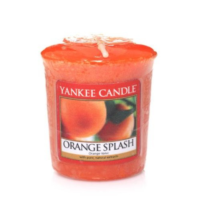 Lumanare Parfumata Votive Orange Splash, Yankee Candle