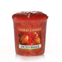 Lumanare Parfumata Votive Spiced Orange, Yankee Candle