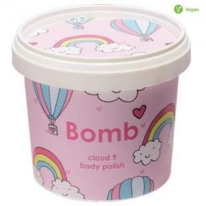 Exfoliant natural, vegan pentru corp Cloud 9, Bomb Cosmetics, 375g