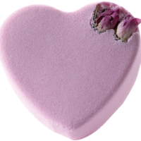 Bath Blaster Pink Rosebud Heart