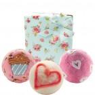 Set cadou We love cupcakes!, Bomb Cosmetics