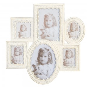 "Rama foto ""Family"" (3x) 7*9 / 8*8 / 16*10 / 16*12 cm, Clayre & Eef"