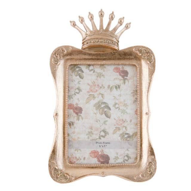 """Rama foto """"Crown"""" 13*18 cm, Clayre & Eef"""