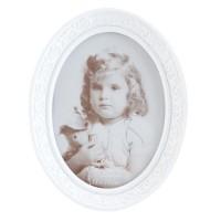 "Rama foto ""White Pearl"" 12*17 cm, Clayre & Eef"