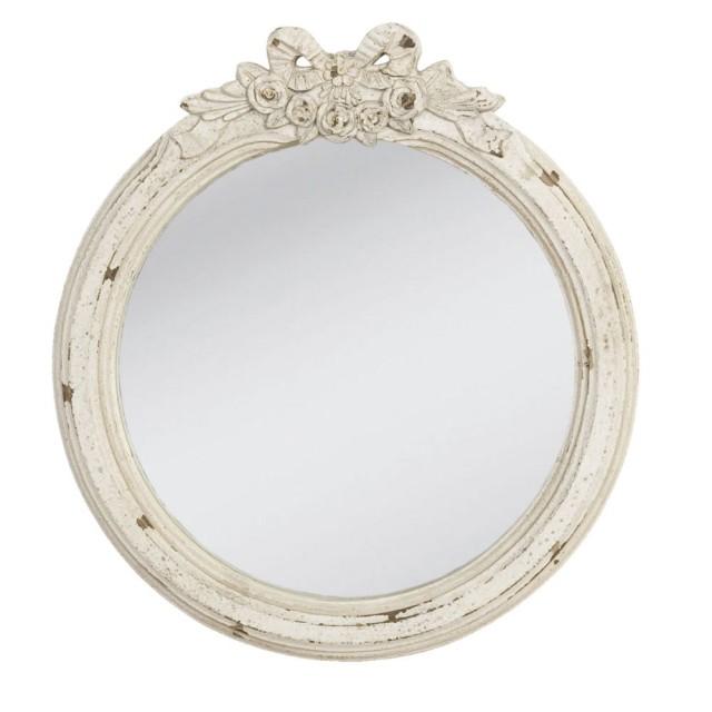 Oglinda decorativa cu aspect antichizat, Clayre & Eef