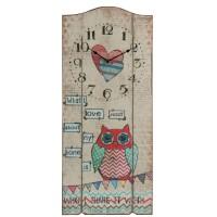 "Ceas ""Owl Love"" 30*4*70 cm, Clayre & Eef"
