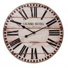 """Ceas de perete """"Grand Hotel, Paris"""", Ø 60*5 cm, Clayre & Eef"""