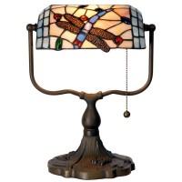 Lampa Tiffany, 27x20x36 cm, 1x E27 / Max 60W, Clayre & Eef