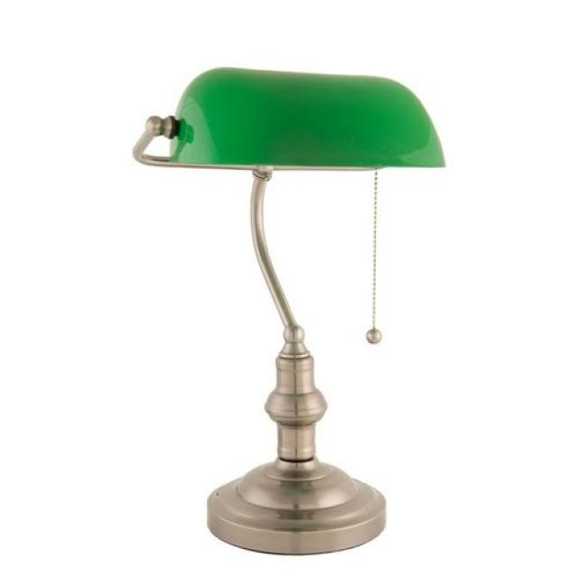 """Lampa de birou """"Green"""", Clayre & Eef"""