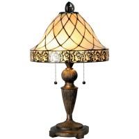 Lampa Tiffany 36x62 cm, 2x E27 / Max 60W, Clayre & Eef