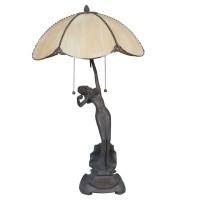 Lampa Tiffany, 41x70 cm, 2x E27 / Max 60W, Clayre & Eef