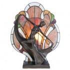 Lampa Atena Tiffany , 35x15x44 cm, E14 / Max 40W, Clayre & Eef