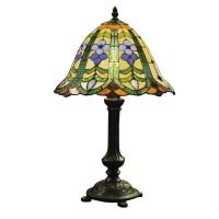 Lampa Tiffany, 30x48 cm, 1 x E14 / Max 40W, Clayre & Eef