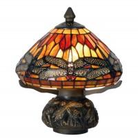 Lampa Tiffany, 22x21 cm, 1x E14 / Max 40W, Clayre & Eef