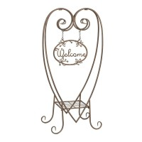 "Decoratiune de gradina ""Welcome"", Clayre & Eef"