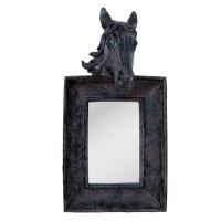 "Oglinda ""Black Horse"", Clayre & Eef"