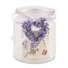 "Suport lumanare votive ""Rustic Lilac"", Clayre & Eef"