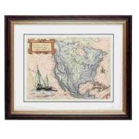 """Tablou """"Map"""", Clayre & Eef"""