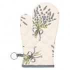 "Manusa de bucatarie ""Bouquet de Lavande"", Clayre & Eef"
