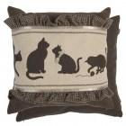 """Fata de perna """"Cats"""" 50*50 cm, Clayre & Eef"""