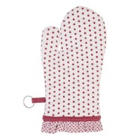 """Manusa de bucatarie """"Dotted Red"""", Clayre & Eef"""